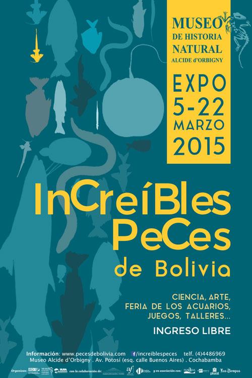 Expo Increibles Peces de Bolivia